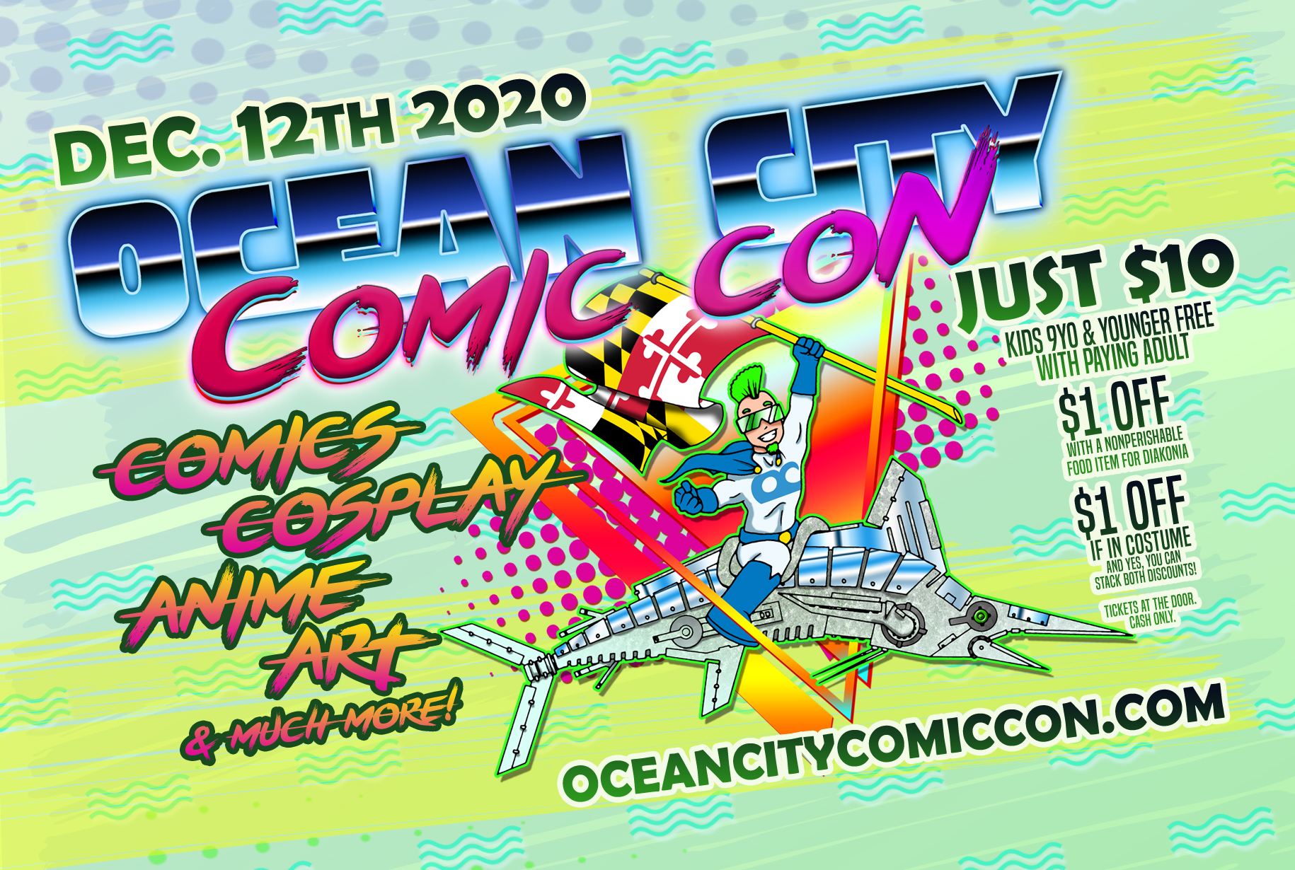 ***CANCELED*** Ocean City Comic Con @ Convention Center