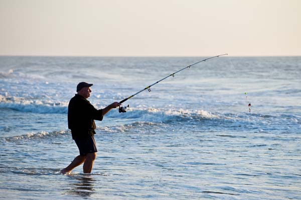 Fishing-rod-in-ocean