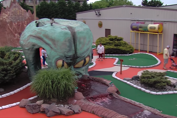 oc mini golf video